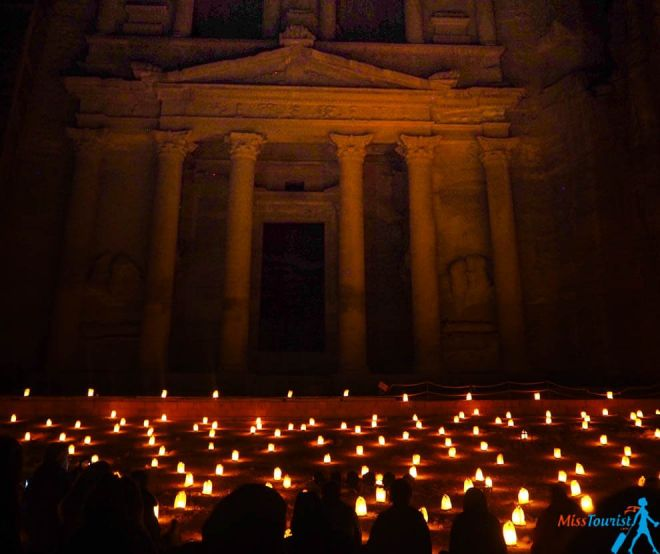 Petra by night tours