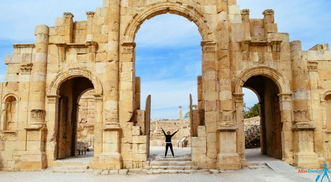 2 Things to do in jerash Jordan