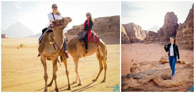 3 wadi rum tours camel ride jeep