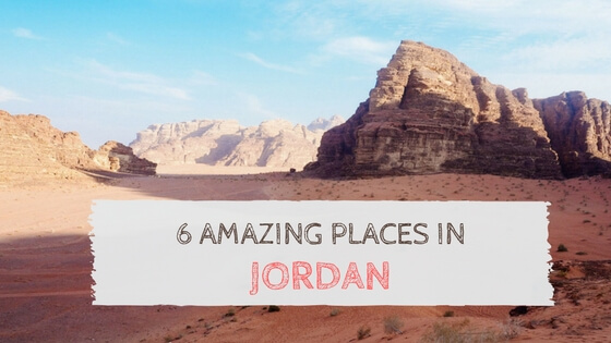 Jordan 6 days sample itinerary