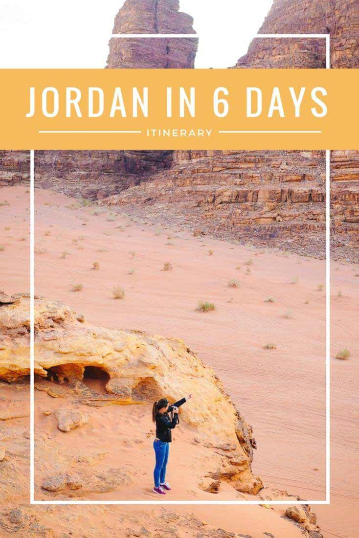 Jordan has it all – a beautiful desert, a new wonder of the world Petra, the lowest sea in the world, amazingly preserved Roman ruins aaand, last but not least, delicious middle-eastern cuisine!