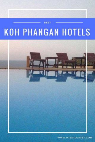 Koh Phangan Hotels Thailand misstouristcom