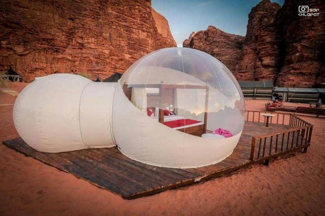 Luxury bedouin hotels Wadi Rum Jordan