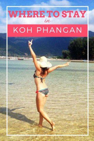 Where to stay in Koh Phangan Thailand misstouristcom