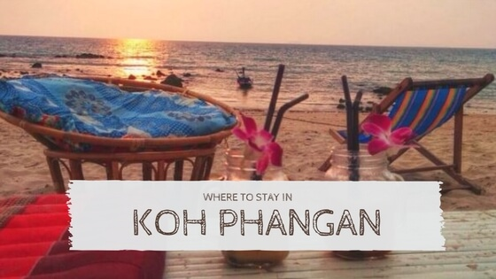 Where to stay in Koh Phangan Thailand