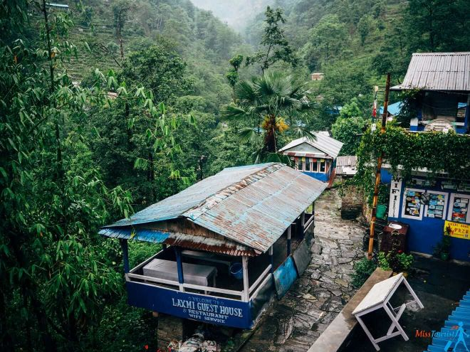 1.3 Guest houses in Nepal trekking tea house