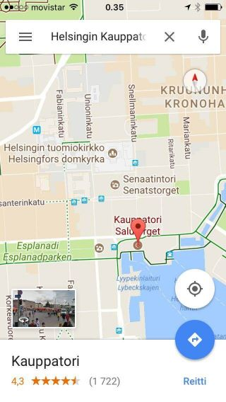 How to walk to the Suomenlinna ferry from the Helsinki Railway Station