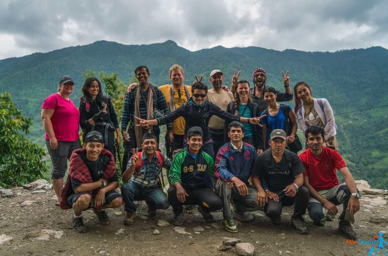 3.1.1 Nepal trekking organized tour