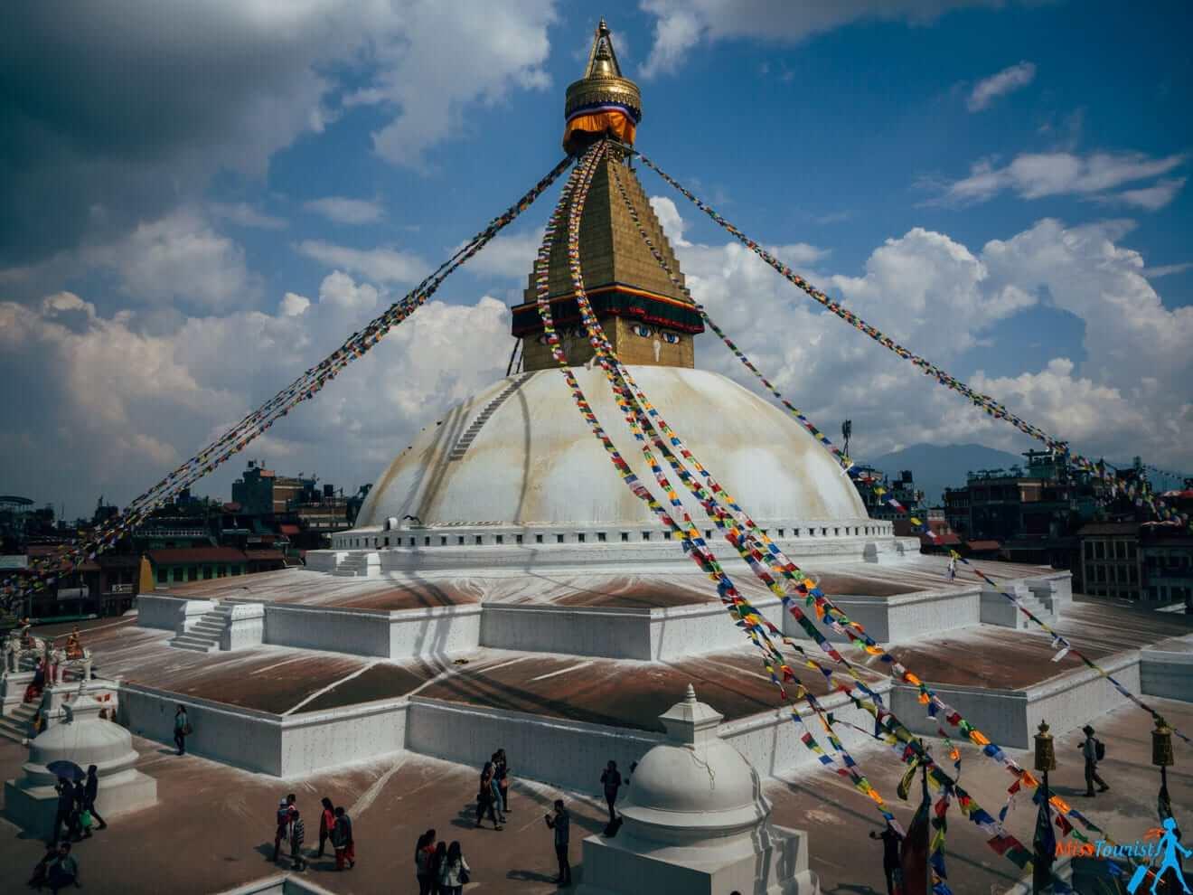 4.6 Boudhanath Stupa kathmandu nepal