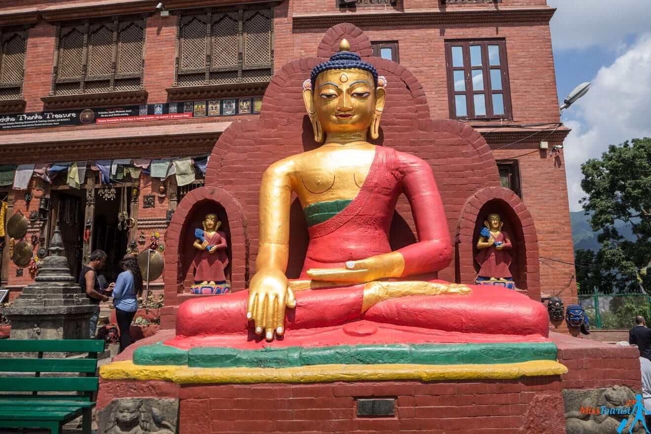 4.6 Swaymbhunath Kathmandu Nepal