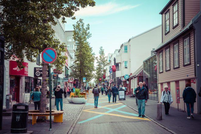 reykjavik city in summer