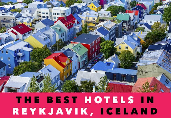 places to stay in reykjavik