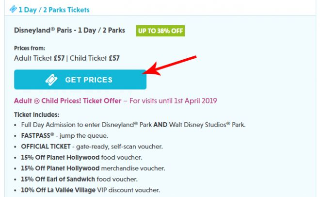 Cheap tickets to Disneyland, Paris Disneyland Picniq- screenshot3