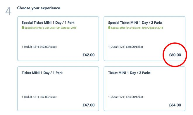 Cheap tickets to Disneyland, Paris - how to save at least 20€ per person 1(2)