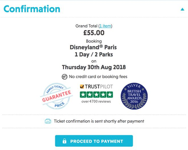 Cheap tickets to Disneyland, Paris - how to save at least 20€ per person 12