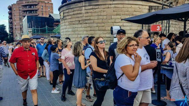 1 Sagrada Familia queues Barcelona
