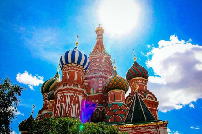 1.1 Siant Basil Cathedral red square