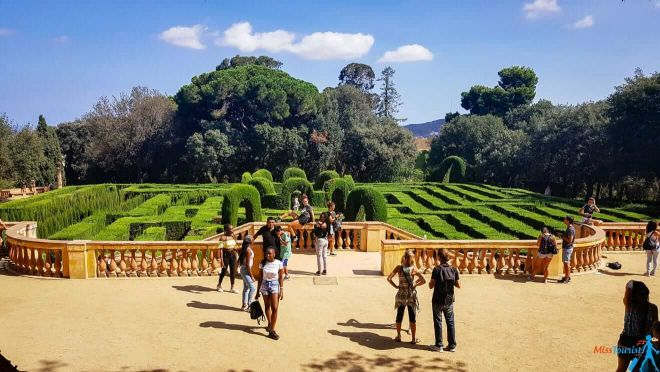 11 Parc del Laberint d'Horta Barcelona things to do with kids in barcelona