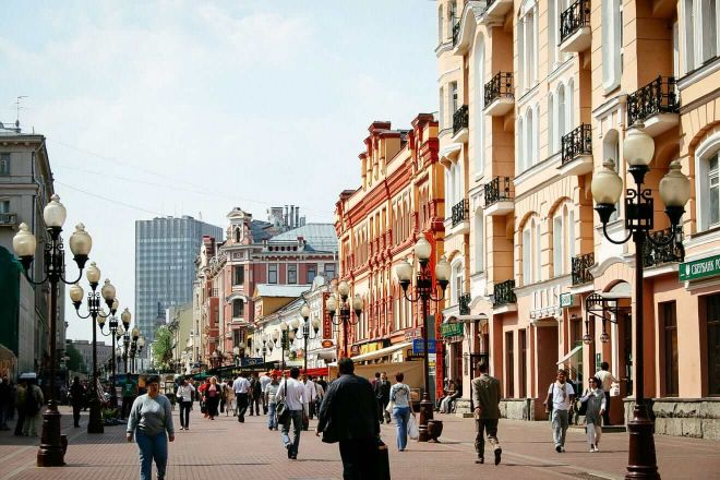 12. Old Arbat and New Arbat streets
