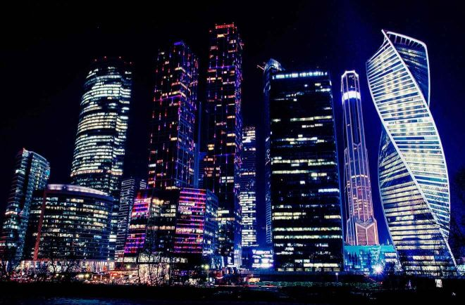 13 Moskva city