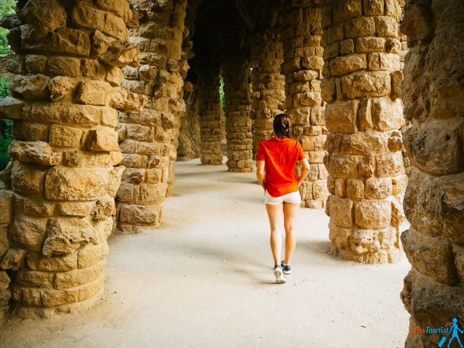 3 Park Guell Barcelona Free part