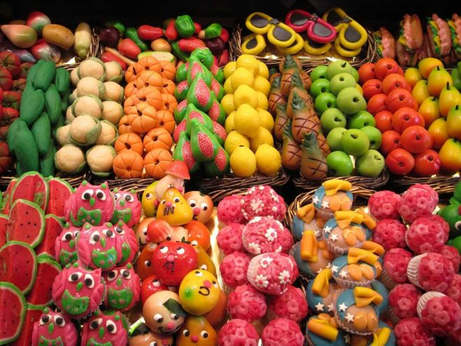 3 la-boqueria market with kids barcelona