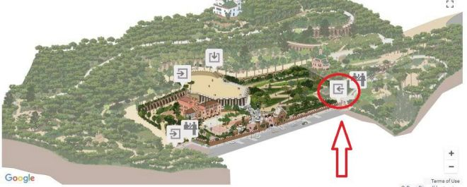 3 park guell monumental zone - 2