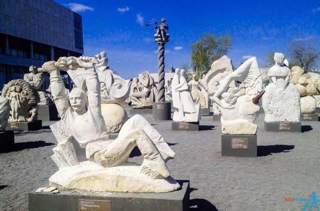 6. Gorky Park Muzeon