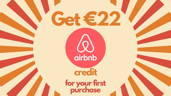 Airbnb coupon €22