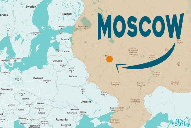 where is moscow