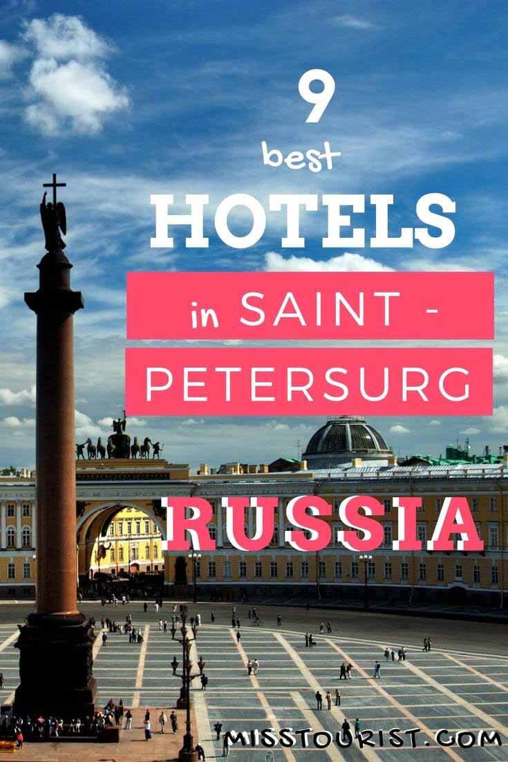 Best Hotels in Saint Peterburg, Russia - near the center, romantic hotels, beautiful rooms, all budgets from luxury to cheap hotels, houses and apartments are also included