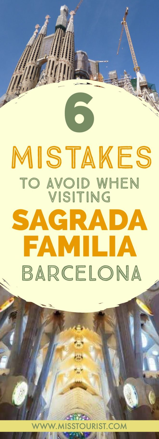 6 Mistakes to Avoid Before Visiting Sagrada Familia in Barcelona pin it 2