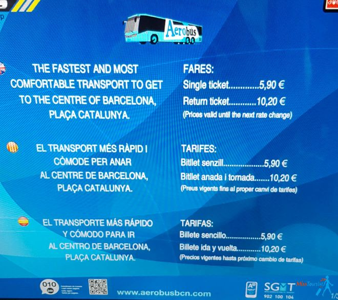 Aerobus Unusual and Fun Things To Do In Barcelona Spain How to Get Around