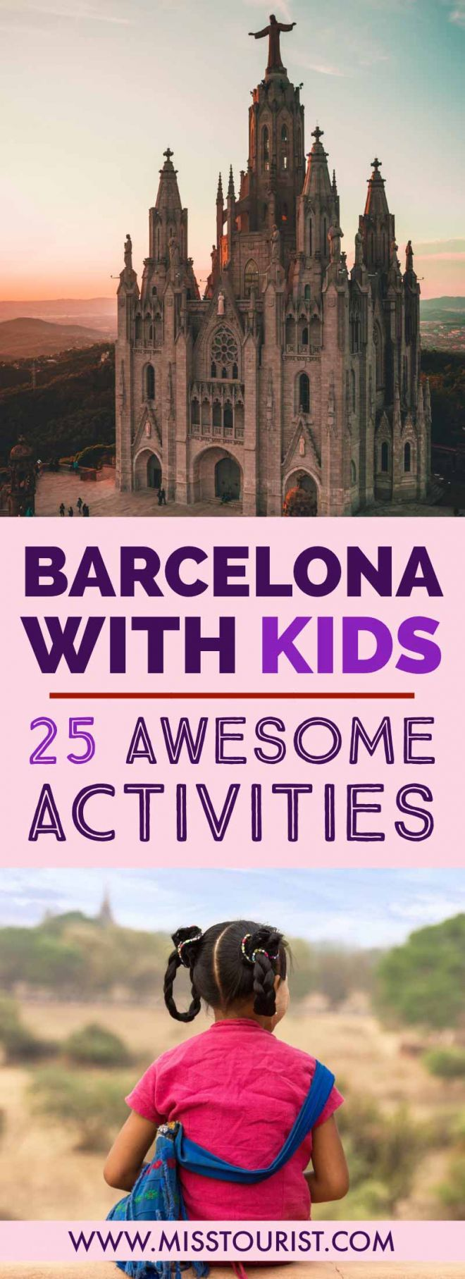 Barcelona With Kids 25 Awesome Things To Do pin it 2