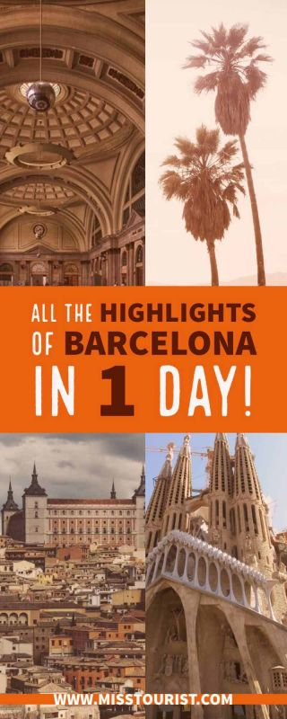barcelona in one day