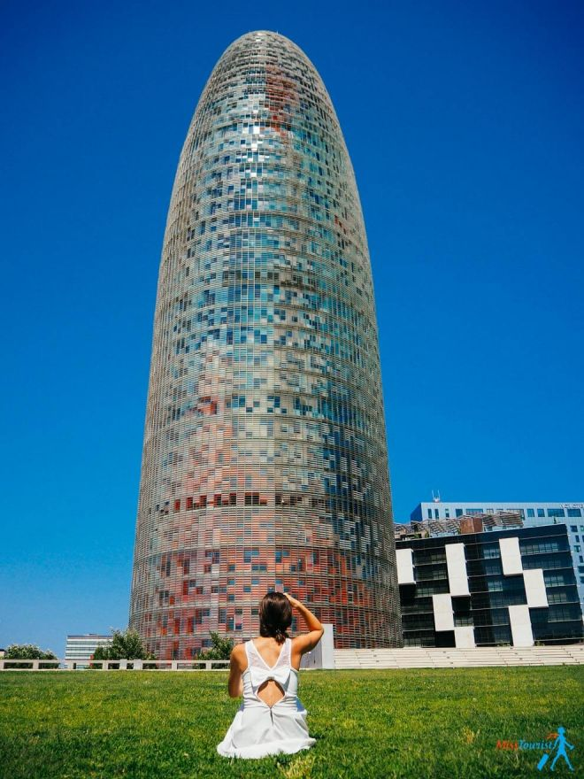 Torre Agbar Unusual Things to do in Barcelona Spain