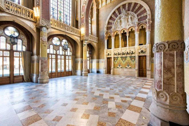 Unusual and Fun Things To Do in Barcelona Old Sant Pau Hospital 1