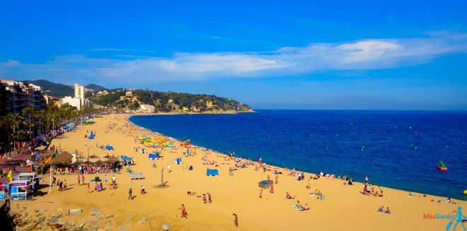 lloret de mar beaches barcelona day trip