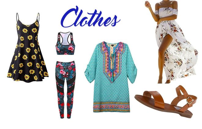 15 things you should take to maldives clothes