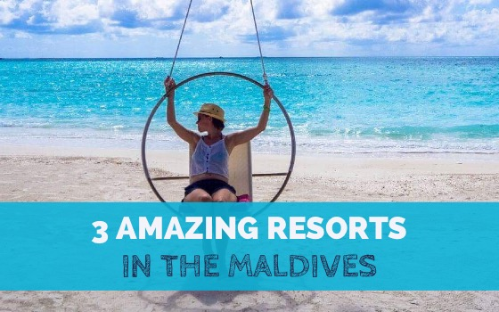 3 Amazing Resorts In The Maldives cover
