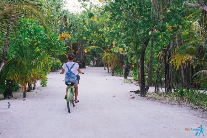 Kanuhura Resort in the Maldives Your Private Escape bike