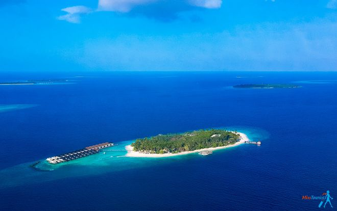 Kanuhura Resort in the Maldives Your Private Escape island above
