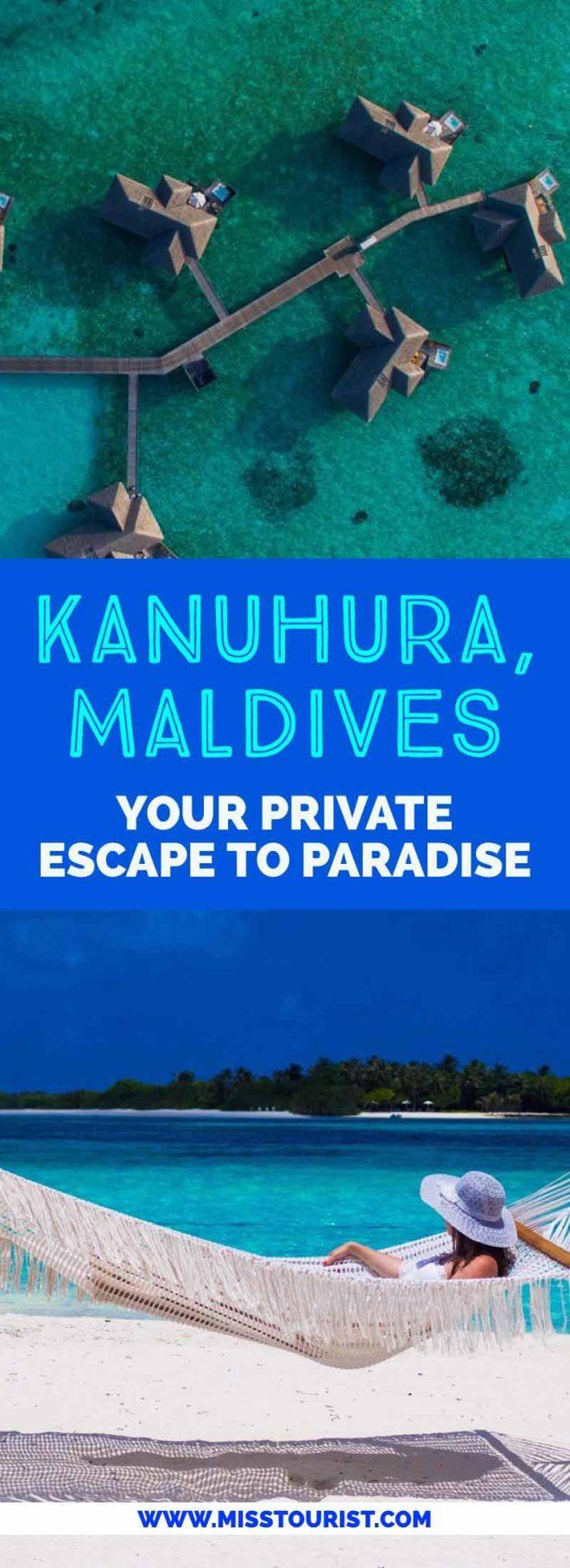 Kanuhura Resort in the Maldives Your Private Escape pin it 2