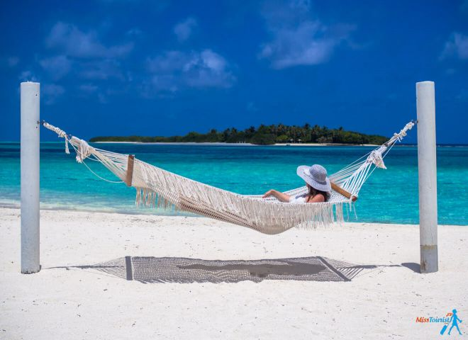 Kanuhura Resort in the Maldives Your Private Escape relaxation hammock