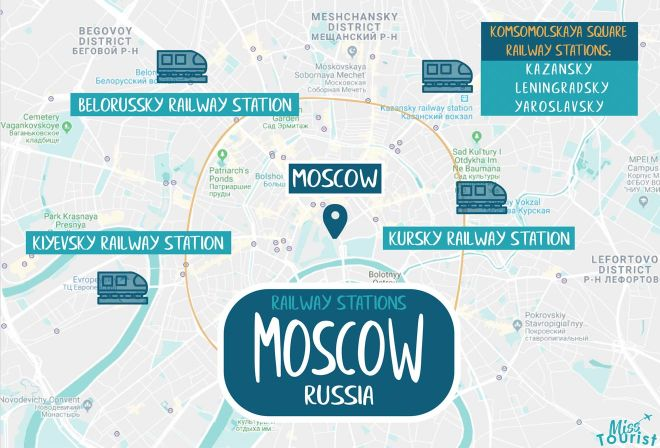 map of railway stations moscow