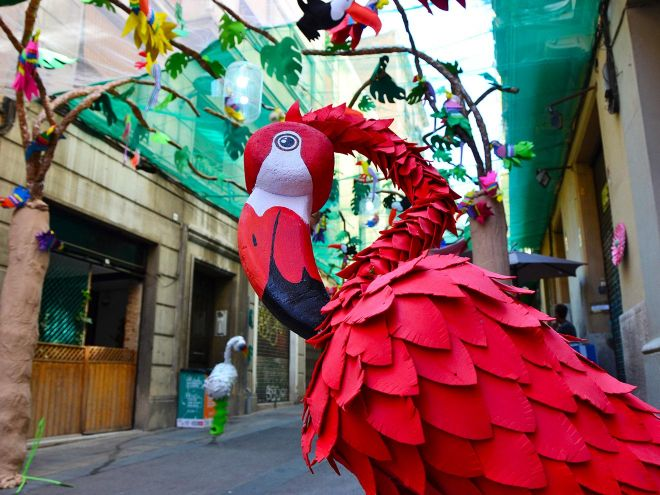 Unusual things to do in Barcelona Festa Major de Gracia