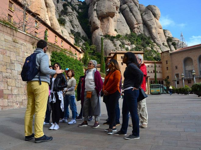Unusual things to do in Barcelona Montserrat and Wine Tour