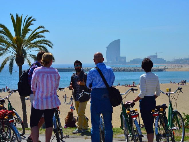 Unusual things to do in Barcelona ride a steel donkey bike