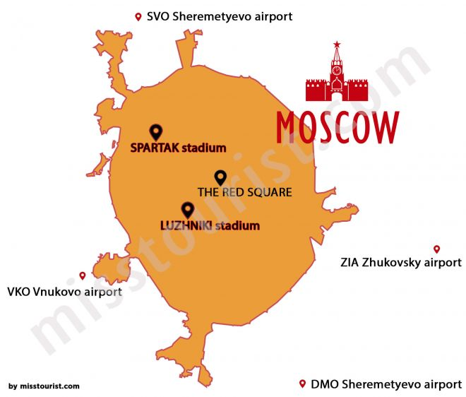 Where To Stay in Moscow Hotel Recommendations Russia 2 World Cup Stadium
