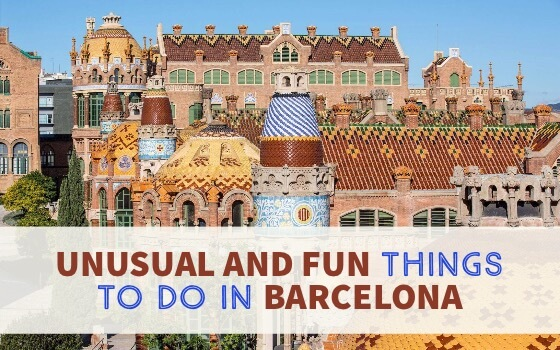 cover Unusual and Fun Things To Do in Barcelona Spain